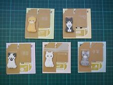 5 pcs Kitty Theme Bookmark Sticky Notes Pads