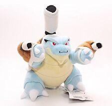 Pokemon Mega Blastoise/kamekkusu Stuffed 10.5 Plush Toy Doll to Kids X'mas Gift