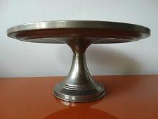 Antike Kuchenplatte Keramik Spritzdekor Tortenplatte Kuchenteller braun