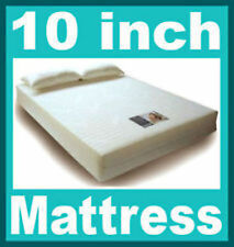 10 inch thick King 5ft bed size Visco Elastic Memory Foam Mattress + Free P+P