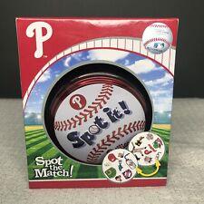 2018 Philadelphia Phillies Edition Spot It Game Spot the Match New
