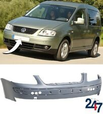 NEW VW CADDY 2004 - 2010 FRONT BUMPER WITHOUT HEADLIGHT WASHER AND PDC HOLES
