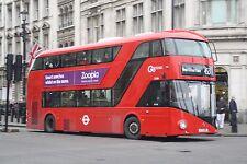 New bus for London - Borismaster LT281 6x4 Quality Bus Photo