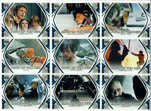 Star Wars Skywalker Saga Complete 10 Card Path Of The Jedi Chase Set PJ1-PJ10