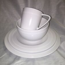 Emeril Wedgwood Professional 4 Piece Place Setting - Linen White