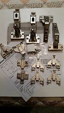 "OLD STYLE BLUM BIFOLD HINGE KIT for LAZY SUSAN, 1/2""- 3/4"" overlay, #c-252"
