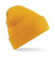 PULL-ON Beanie Hat | 60 COLOURS | Beechfield Original Soft Touch Cuffed Beanie