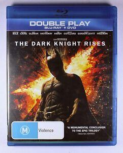 The Dark Knight Rises Blu Ray / DVD FREE POST