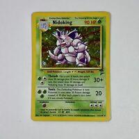 Nidoking - Base Set 2 - 11/130 Holo Rare Pokemon Card