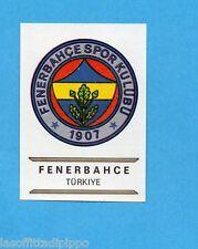 FOOTBALL CLUBS-PANINI 1975-Figurina n.292- FENERBAHCE -TURCHIA-SCUDETTO-Rec