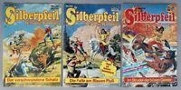 Silberpfeil 3 Hefte Nr. 405,412,748 Bastei Verlag Comic 80er Jahre # A-782
