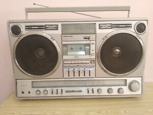 Rare Huge National Panasonic RX-5350F Vintage Boombox ghettoblaster - Working