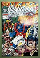 WILDC.A.T.S 1 VF/NM (9.0)1st WILDCATS,SIGNED BY JIM LEE w/COA w/TRADING CARDS *