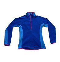 Columbia Sportswear Omni-Wick 1/2 Zip Pullover Fleece Sweater Jacket Womens Sz S