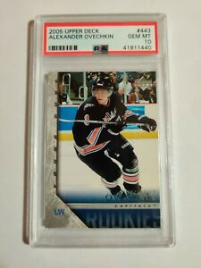 2005 Upper Deck Alexander Ovechkin Young Guns RC Psa Gem Mnt 10 Perfect! 👌