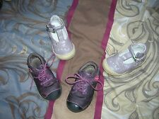 MARQUES !!!! joli lot bebé fille CUIR sandales babies 20 little mary + mod 8 21