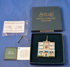 1997 The Webster Hotel, Miami Beach of Shelia's Historical Ornament Collection