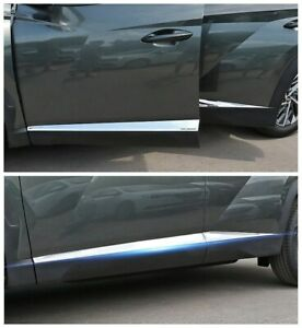 stainless Side Door Body Molding Cover Trim 4PCS For 2022-2023 Hyundai Tucson