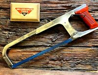 Miller's Falls # 300 Hack Saw   Buck Rogers Handle    Excellent Condition