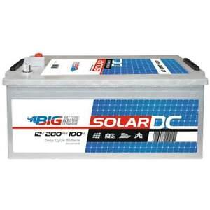 BIG Solarbatterie 12V 280Ah Wohnmobil Versorgung Mover Boot Batterie statt 230Ah