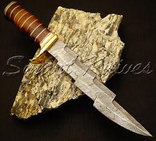 Hermosos personalizado hecho a mano cuchillo machete Daga De Caza De Acero Damasco Rose Madera
