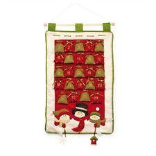 Markenlose Adventskalender mit Beutel/Säckchen aus Stoff
