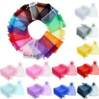 Organza Gift Bags Wedding Party Favour Xmas Jewellery Candy Pouches UK Wholesale