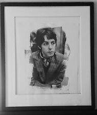 Paul McCartney Decca Records London 1966 The Beatles signed Gered Mankowitz RARE