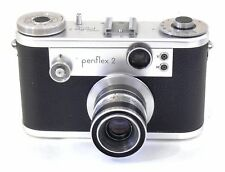 Corfield periflex 2 silver chrome with 50 mm f/3.5 lumar-X Lens and Case EXC +