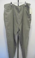 Tommy Bahama Relax Flat Front Dress Pants Silk Cotton Striped Green Size 50R,NWT