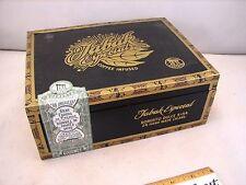 "DREW ESTATE WOOD CIGAR BOX TABAK ESPECIAL ROBUSTO DULCE 9"" X 7"" X 3 5/16"""