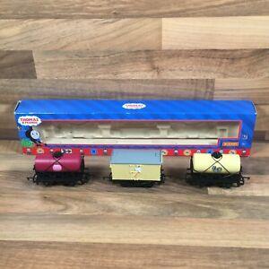 Rare Hornby R9095 Thomas & Friends Cream & Raspberry Syrup & Ice Cream Tankers