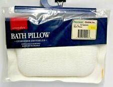 Croydex Plain White Croydelle Bath Pillow Machine Washable