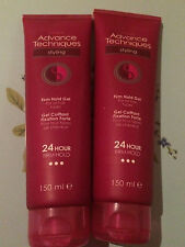 NEW AVON ADVANCED TECHNIQUES FIRM HOLD GEL FOR ALL HAIR TYPES 150MLS SAVE