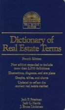 Dictionary of Real Estate Terms (4th ed) (Barron's Real Estate Guides)-ExLibrary