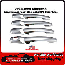 2014 Jeep Compass Chrome Trim Door Handle Covers Ships in USA Fast