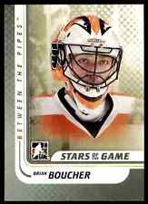 2010-11 In the Game Between the Pipes Brian Boucher #91