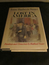 LOST IN AMERICA, Isaac Bashevis Singer. Nobel Prize. First Edition, Mint, Signed