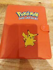 More details for vintage red pokémon pikachu a5 folder