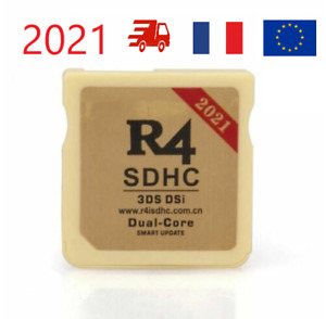 2021 R4 GOLD SDHCDS / 3DS / 2DS /NDSll Revolution +l ecteur envoi de france