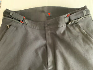Dainese Mens New Drake Air Textile Motorcycle Pants Euro Size 50 Retail $260
