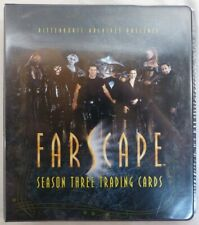 Farscape Season 3 trading cards Base Set Binder Chasers Quotable Family +more