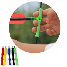 1* Archery Shoot Silicone Finger Bowstring Protector Guard Bow Arrow Accessories