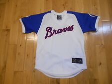 MAJESTIC 1974 Cooperstown Collection Atlanta Braves Baseball Jersey Youth M MLB