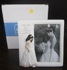 May You Grow In Wisdom And Grace Picture Frame 4 X 6 New In Box Bride Marriage