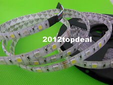 5050 RGBW RGB+Cool / Warm white 5M 300 led LED Strip Light +40ky Controller