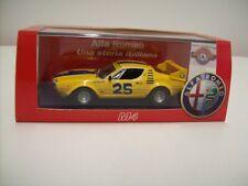 "Alfa Romeo Montreal #25 ""6 ORE WATKINS GLEN"" 1974, yellow, M4, 1:43, OVP"