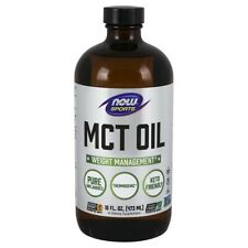 NOW Foods MCT Oil Liquid 16 fl. oz FREE SHIPPING. MADE IN USA