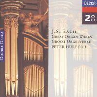 Peter Hurford - Bach, J.S.: Great Organ Works [CD]