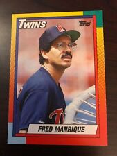 1990 Topps Traded Fred Manrique Minnesota Twins 66T
